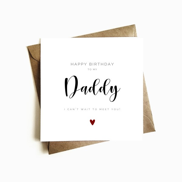 Father to be Card