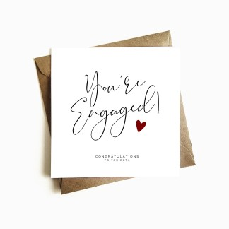 You're Engaged Engagement Card