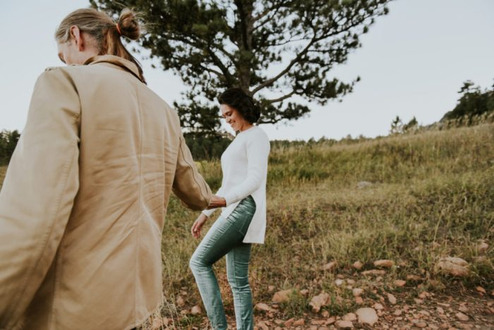Chautauqua Park, Boulder Colorado engagement shoot