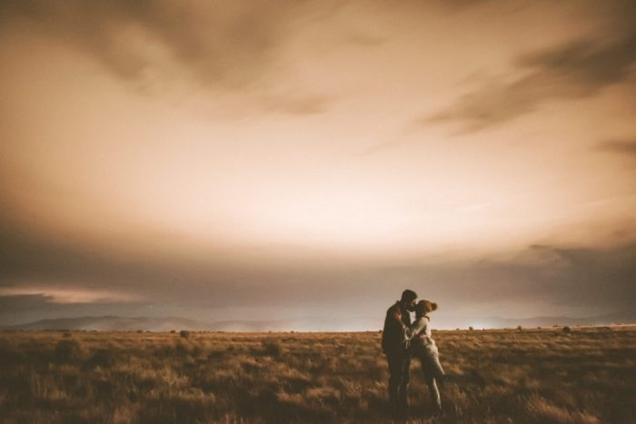 Taos engagement shoot at Hotel Luna Mystica
