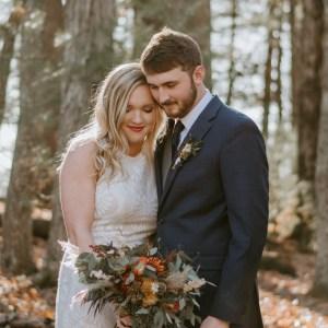 cades cove elopement fall elopement by ashley leffew photography gatlinburg photographer