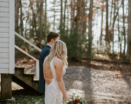 Fall Cades Cove Elopement in the Great Smoky Mountains National Park by Ashley Leffew Phototgraphy Smoky Mountains Photographer