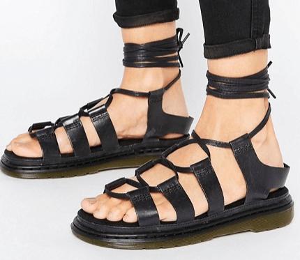 Dr Martens | Dr Martens Kristina Ghillie Lace Up Flat Sandals Safari, Today at 19.25.57