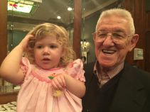 Great-grandaddy's birthday.