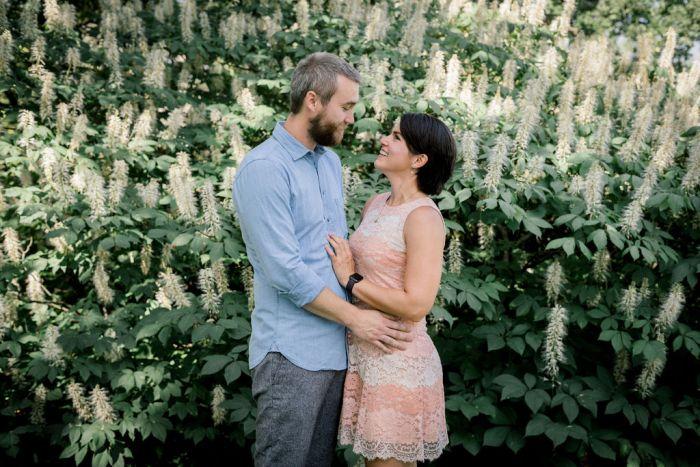 Cox Arboretum couples photos by Ashley Lynn Photo