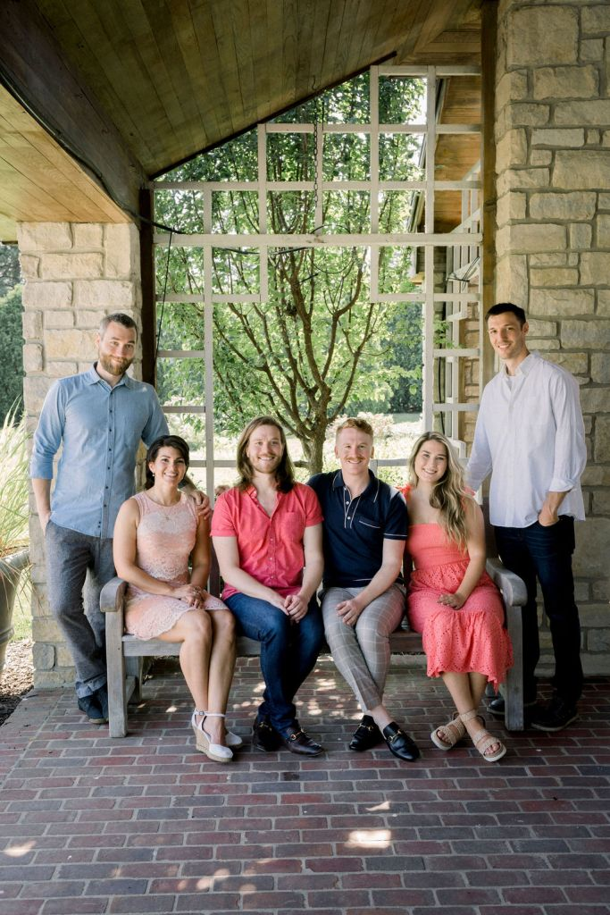 Family portrait session by Ashley Lynn Photography