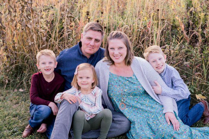 Outdoor Family Photography Near Beavercreek Ohio