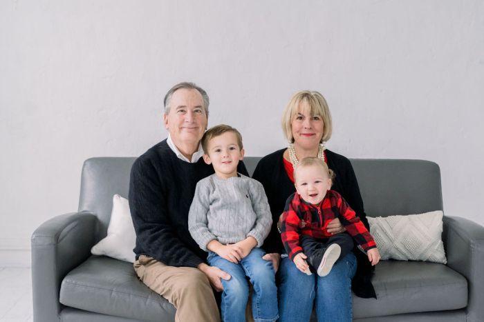 Lebanon, Ohio Family Portraits at Noir Studio Space