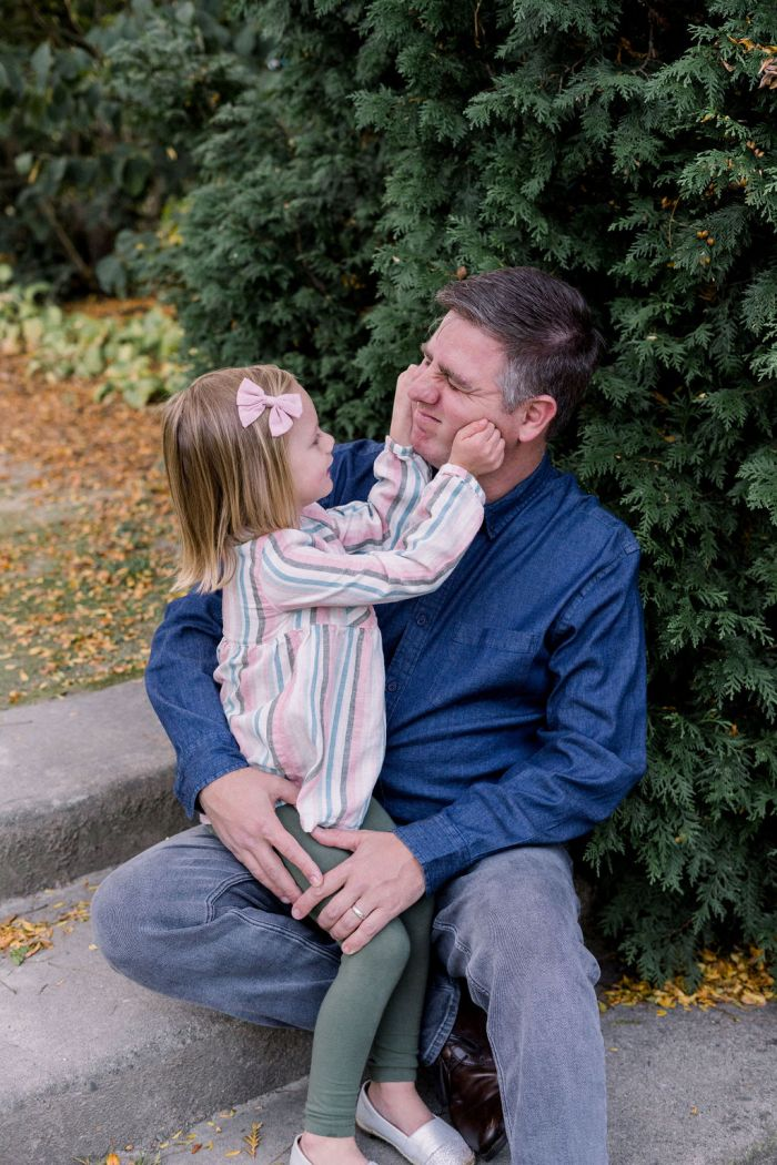 Dad and Daughter Portraits | Ashley Lynn Photography