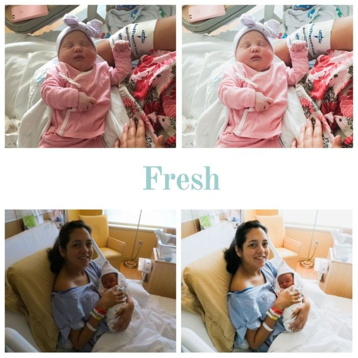 Fresh - Labor and Delivery Lightroom Preset