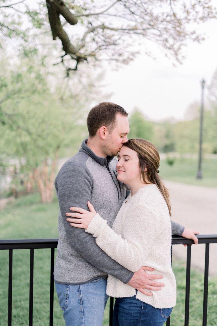 Dayton Ohio Outdoor Engagement Photography