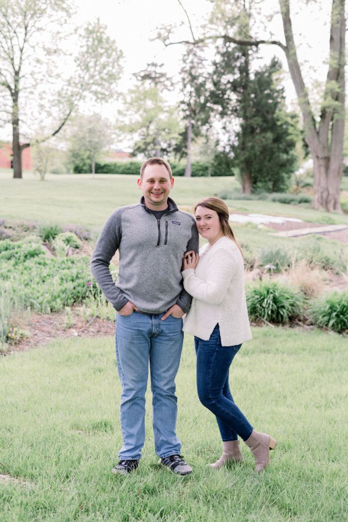Outdoor Engagement Photography in Dayton, Ohio