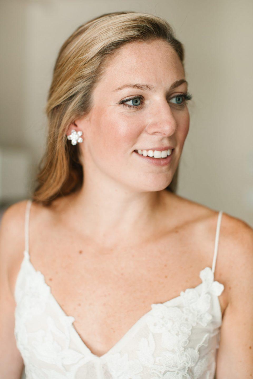 bridal portrait photographed by Ashley Mac Photographs