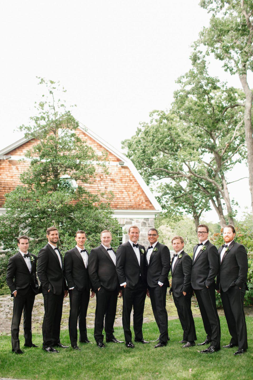 groomsmen pose for Ashley Mac Photographs