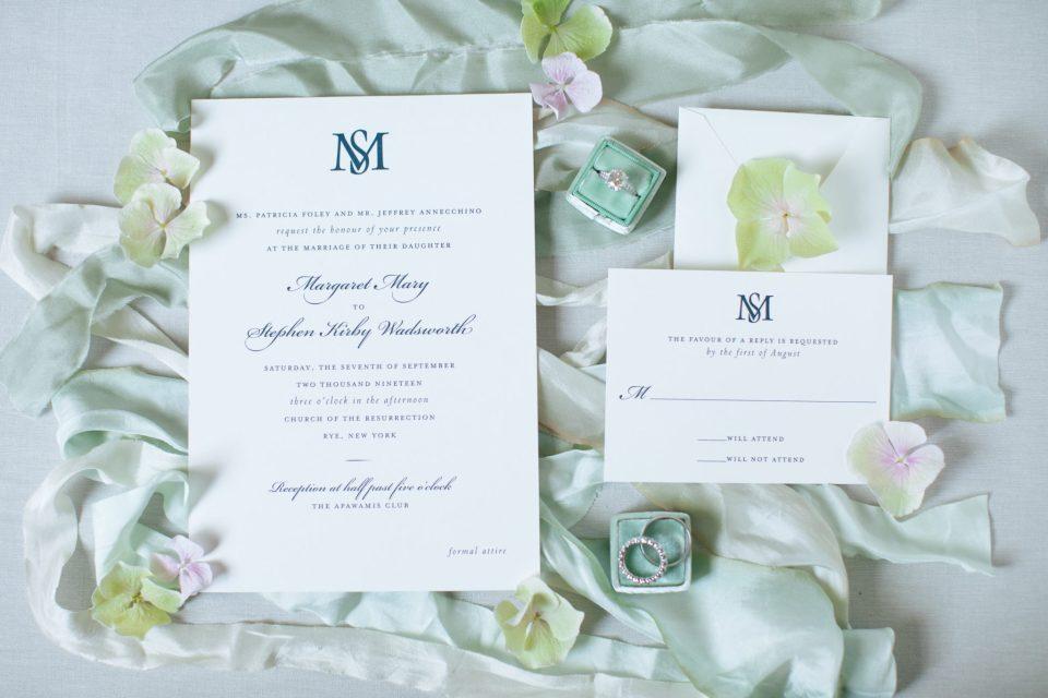 wedding invitation suite photogrpahed by Ashley Mac Photographs