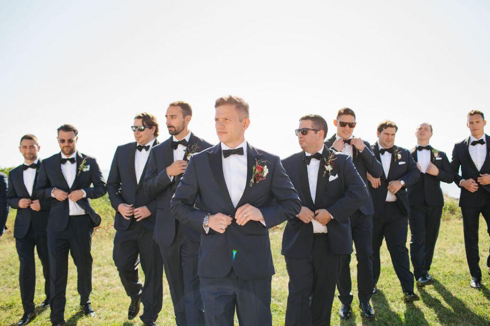 groomsmen portraits by NJ wedding photographer Ashley Mac Photographs