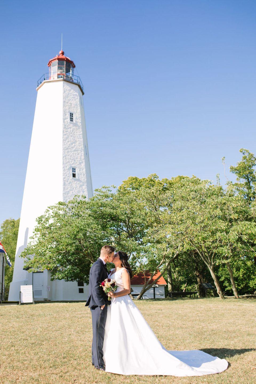 Sandy Hook NJ wedding portraits by Ashley Mac Photographs
