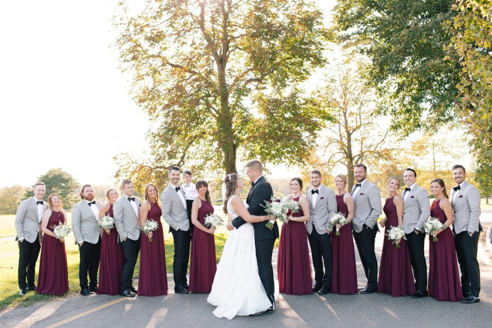 wedding party in New Jersey photographed by Ashley Mac Photographs