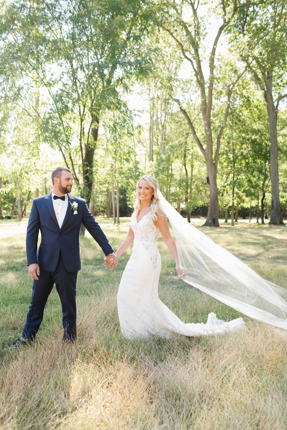 romantic wedding photos by Ashley Mac Photographs at Rumson Country Club Riverhouse