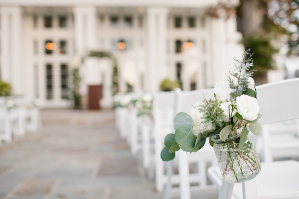 outdoor wedding reception at Ryland Inn inspiration photogrpahed by Ashley Mac Photographs
