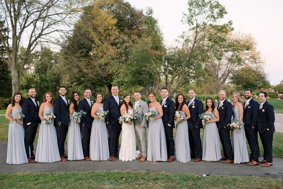 New Jersey wedding party photographed by Ashley Mac Photographs