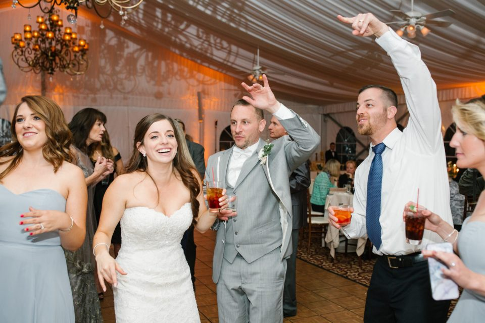 wedding dancing at West Hills Country Club photographed by Ashley Mac Photographs