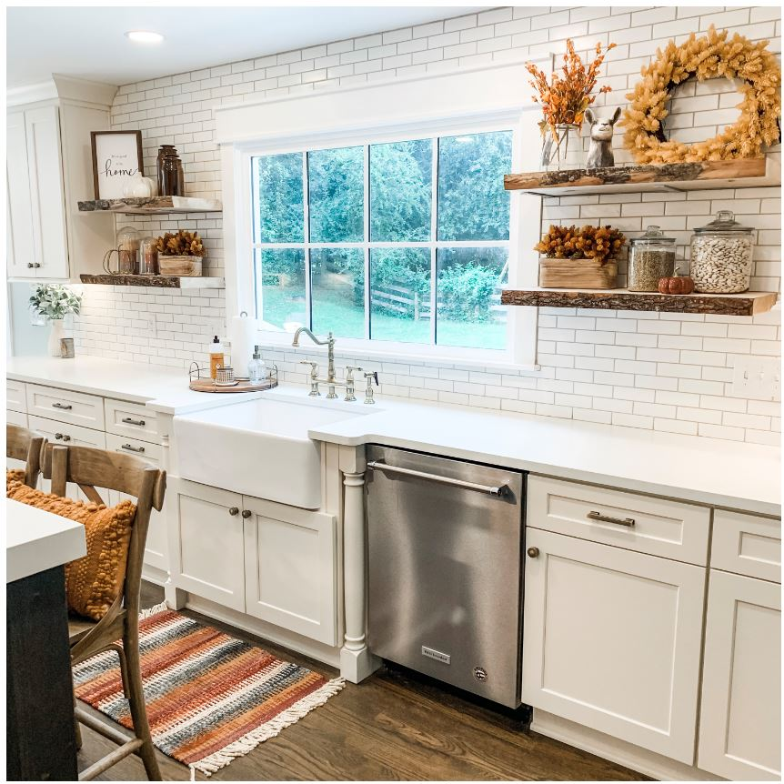Fall Kitchen Refresh and Kitchen Renovation Recap