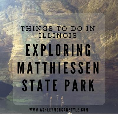 Exploring Matthiessen State Park