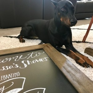 Ashley Nicole Interiors Chalkboard Art