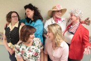 """Publicity photo for """"Steel Magnolias""""- Wayward Actors Company- 2013"""