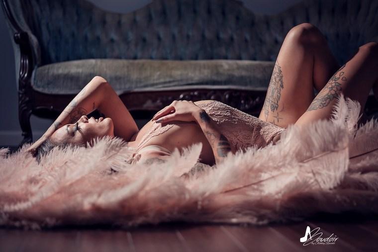 fallen boudoir angel