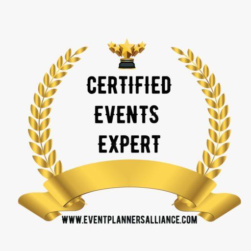 Certified Event expert