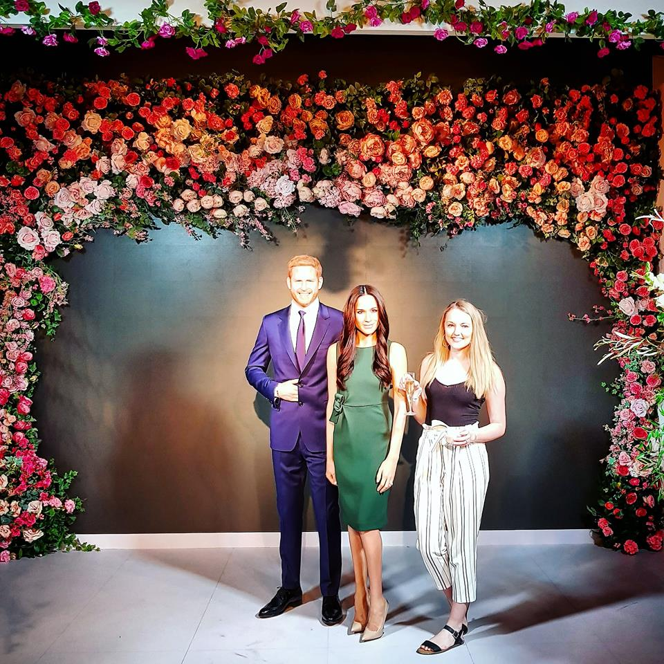 A Royal Stag and Hen do: <br>Madame Tussauds LATES