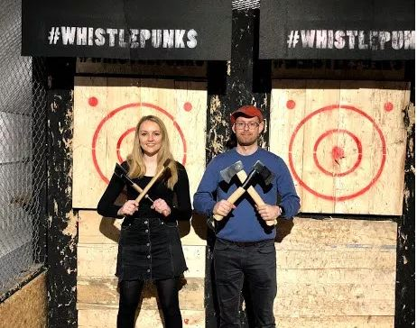 Urban Axe Throwing with Whistle Punks