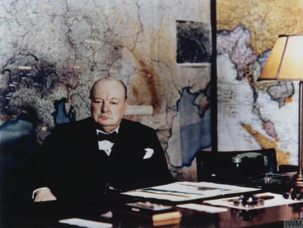 Retrace Churchill's footsteps at <br>The Cabinet War Rooms