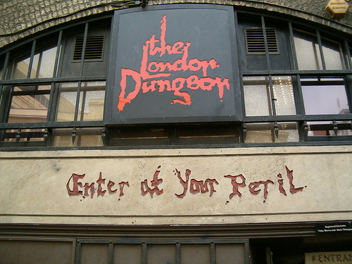 Experience London's dark past with London Dungeon Lates