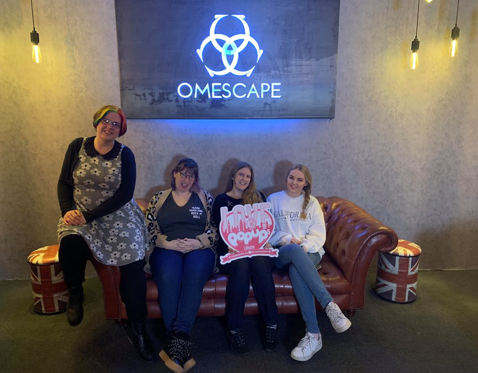 Escaping a Virtual Reality with Omescape