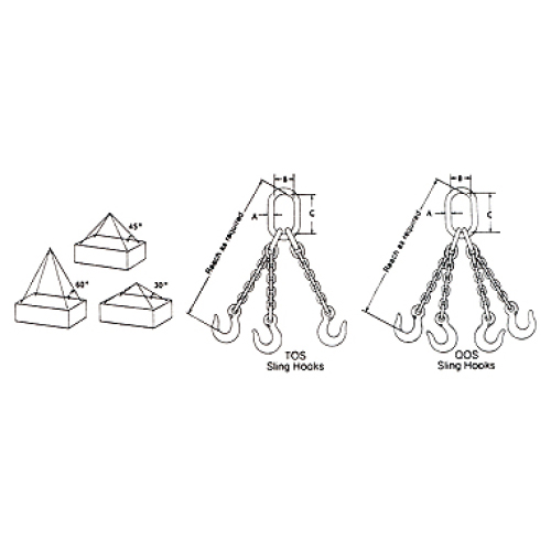 Type T & Q Alloy Chain Sling