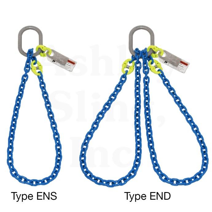 Single & Double Endless Basket Chain Slings