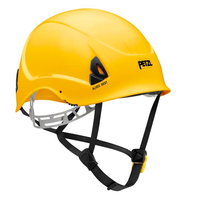 Alveo Best Yellow Helmet