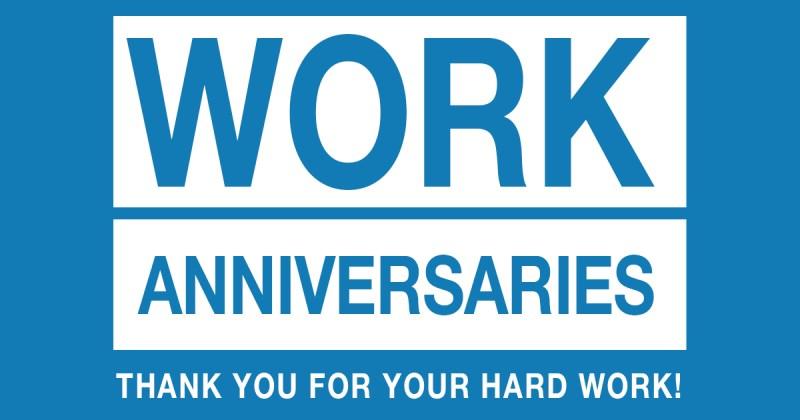 2020 Work Anniversaries