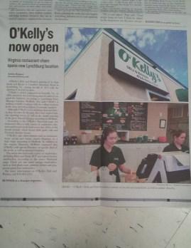 O'Kelly's now open