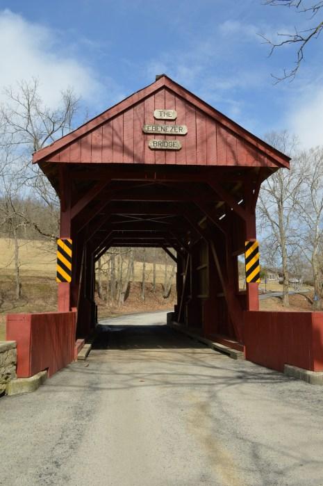 The Ebenezer Bridge at Mingo Creek County Park