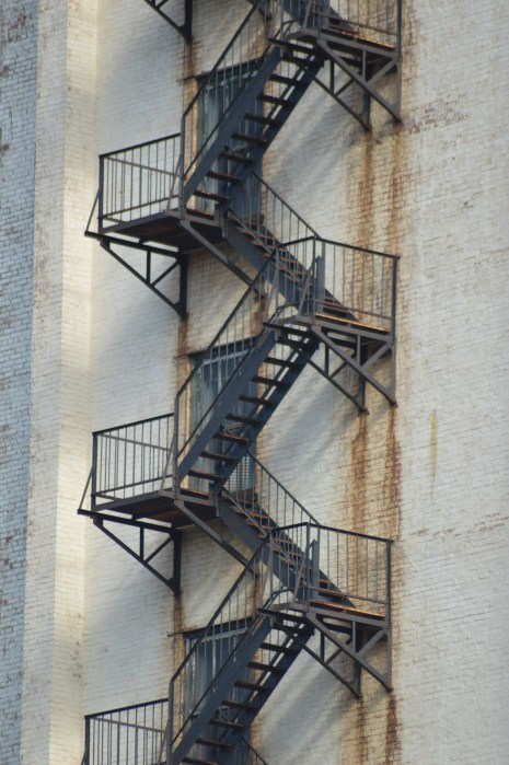 I have a fascination with fire escapes