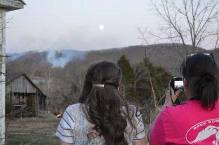 Peavine Mountain Fire
