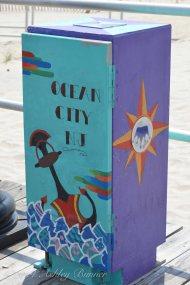 Some local artwork along the boardwalk