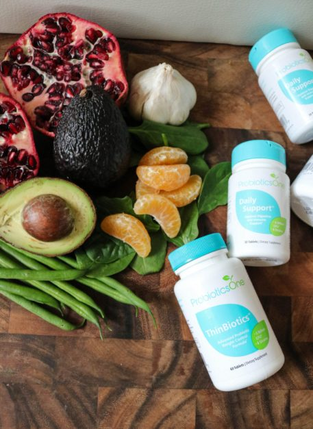 Pomegranate Avocado Green Beans With Probiotics One Supplement
