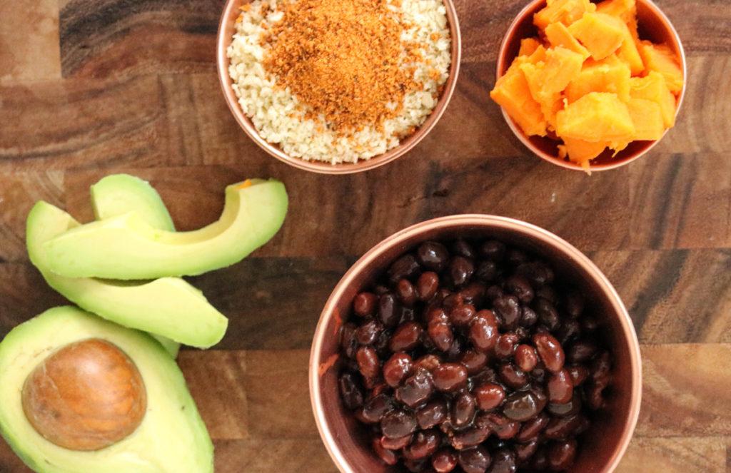 Avocado Black Bean Burger Sweet Potato Healthy Recipe Alternative Vegan