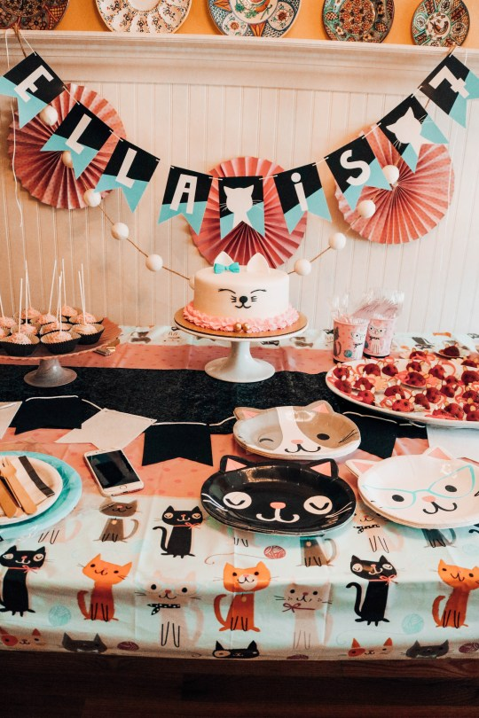 Cat Themed Party Ideas For Your Mini Cat Lady Decor Cake Food Ideas