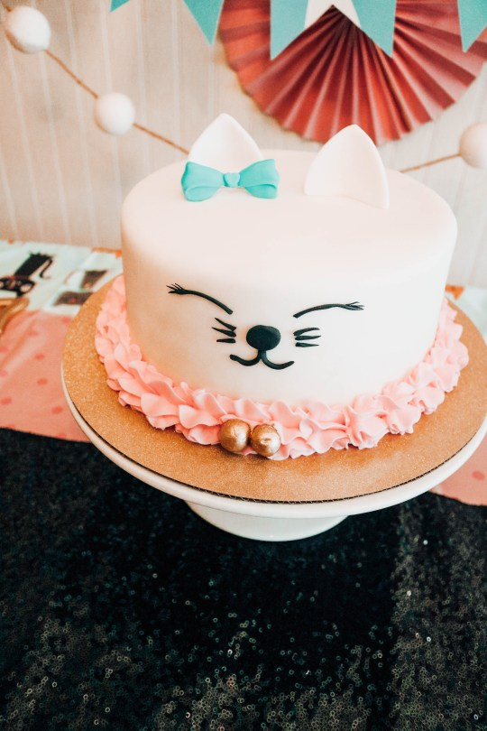 Pleasing Cat Themed Party Ideas For Your Mini Cat Lady Decor Cake Food Funny Birthday Cards Online Fluifree Goldxyz